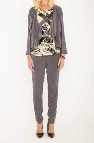 Mardle - Never Enough jacket & Who Wants To Be Lonely shell tee & Heart of Chrome trousers