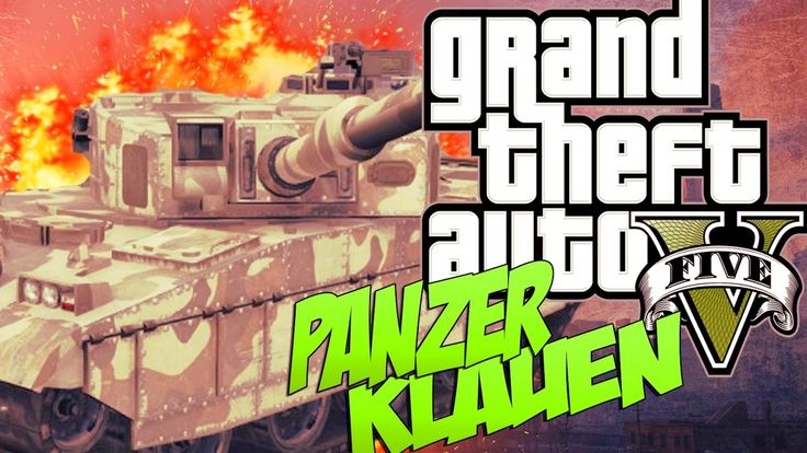 panzer klauen gta 5 [GermanHD]