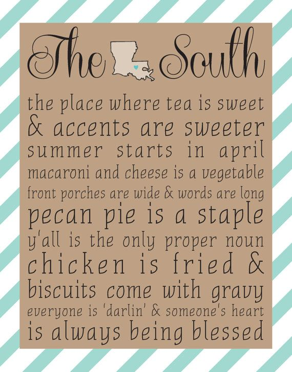 The South Louisiana 8x10 print Choose by sweetteaandsparkles