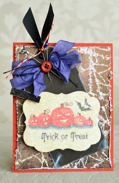 A Delightful Waste of Time: Trick or Treat - Waltzingmouse Blog Party...
