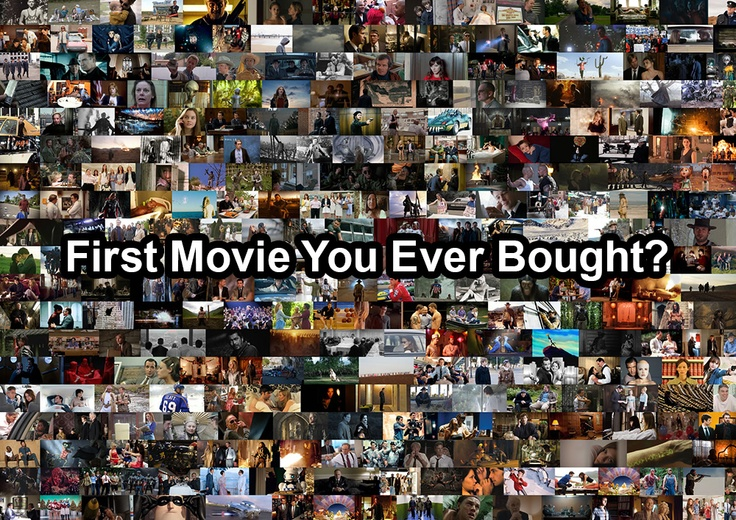 what was the first movie you ever bought?
