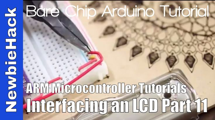 24. How to Interface an LCD to an ARM Microcontroller - Part 11