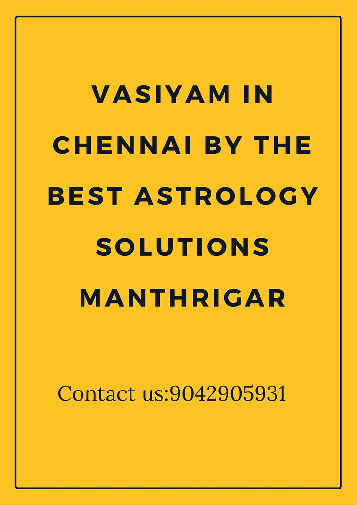 Astrology #Solutions for all the #Vasiyam Servicesin #Chennai Contact us:9042905931 http://bit.ly/29ddbdt