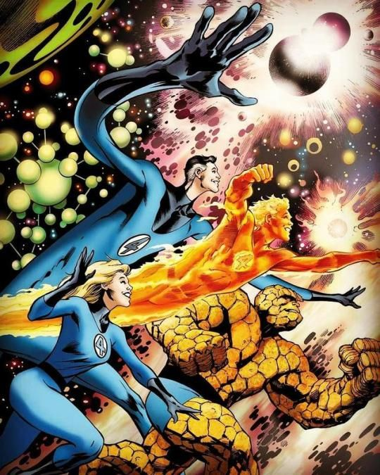 The Fantastic Four by Alan Davis.