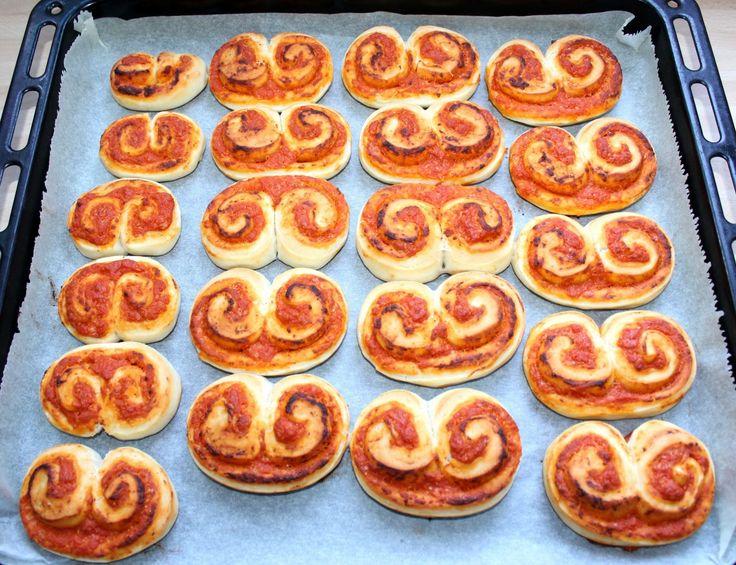 Pizzás tekercs recept