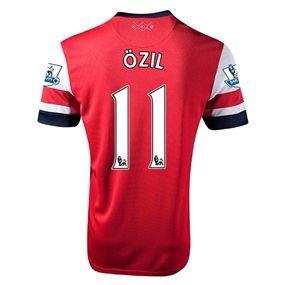 Ozil has been an instant success for Arsenal. Get your Nike Arsenal Home with Mesut Ozil's name and number to show your Gunner's Pride. SoccerCorner.com