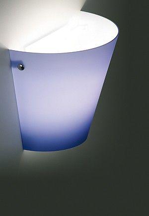 Wall lamp in blown glass. #Liola #led #walllamp
