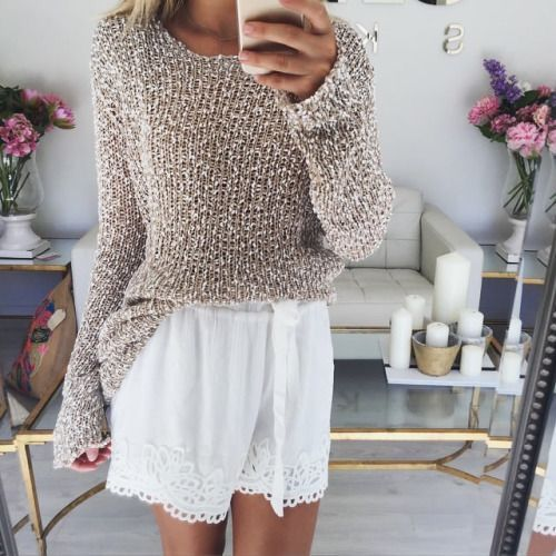 Turn the shorts to a skirt and it's perfect!