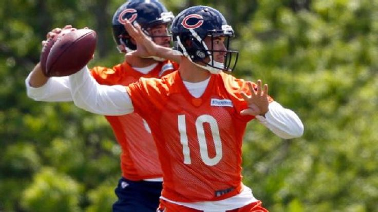 Chicago Bears rookie quarterback Mitchell Trubisky made several impressive throws over the first three days of training camp, but he experienced growing pains, too....