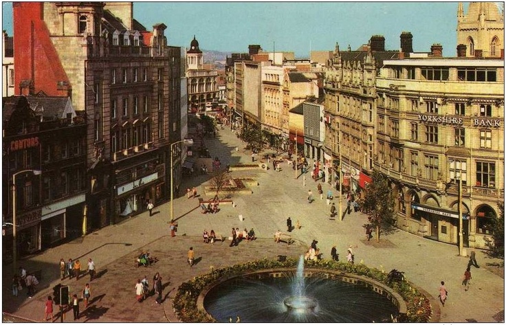 Fargate & Goodwin Fountain, Sheffield #socialsheffield #sheffield