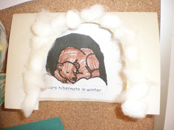 Hibernation Craft   Bear Preschool Theme   Pinterest