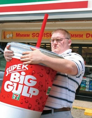 Bloomberg wants to ban large sodas in NYC.....