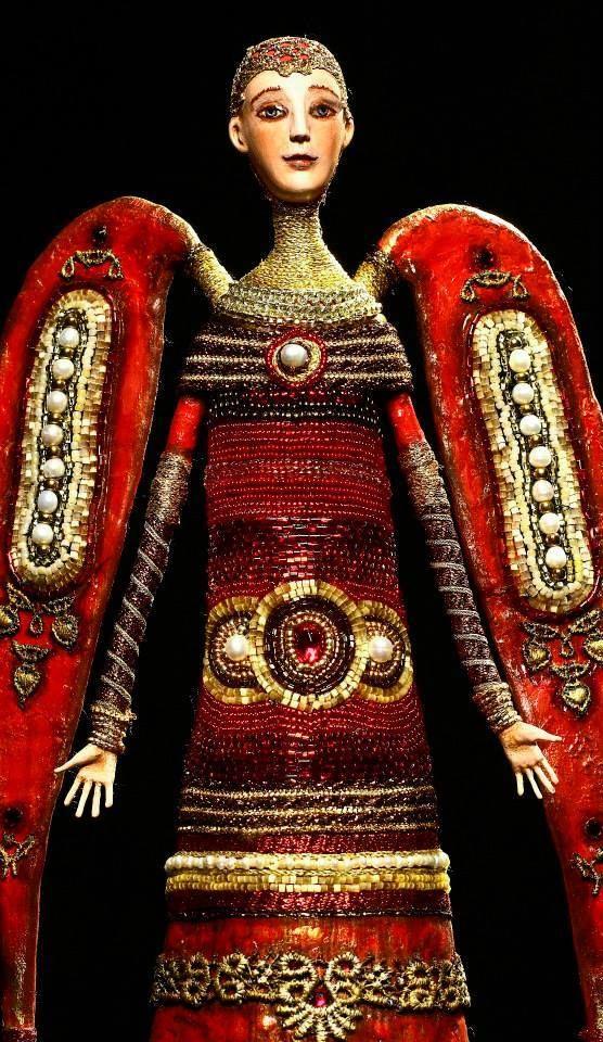 АНГЕЛЫ Румянцева Света Они бывают разные.... В разное время были сделаны эти работы. В основном в начале 2000-х
