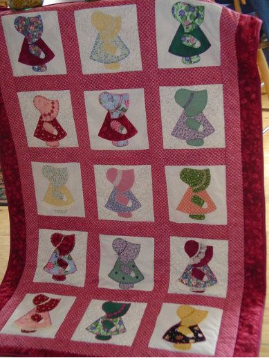 Sunbonnet Sue: Free Quilt Patterns - with-heart-and-hands.com