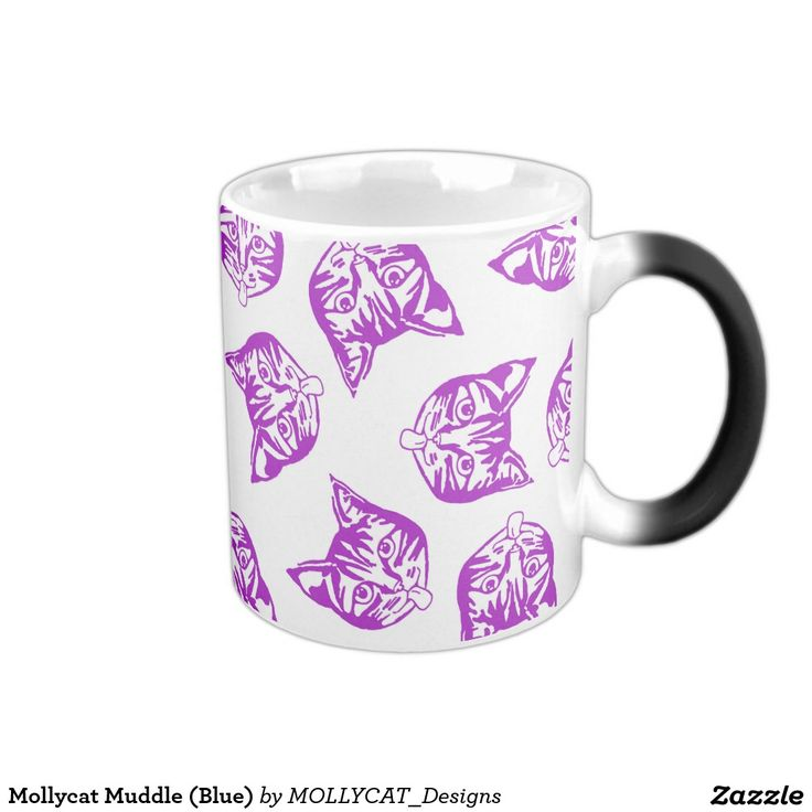 Mollycat Muddle 11 Oz Magic Heat Color-Changing Coffee Mug #mollycat #mollycatfinland #ilovecats #catsforever #cats #kitty #coolcats #giftsforgirls #latestgifts #trendinggifts #Magic #Heat #ColorChanging #Coffee #Mug #drink #tea #cuppa
