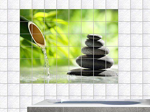 #Fliesenaufkleber Fliesen Folie Bad Küche #Fliesensticker Wellness Bambus Entspannung WC Badezimmer Fliesengröße 15x15cm (Anzahl Fliesen = 5 breit und 3 hoch) Graz Design http://www.amazon.de/dp/B00EVPZFK0/ref=cm_sw_r_pi_dp_MU1Pvb14AE2SC
