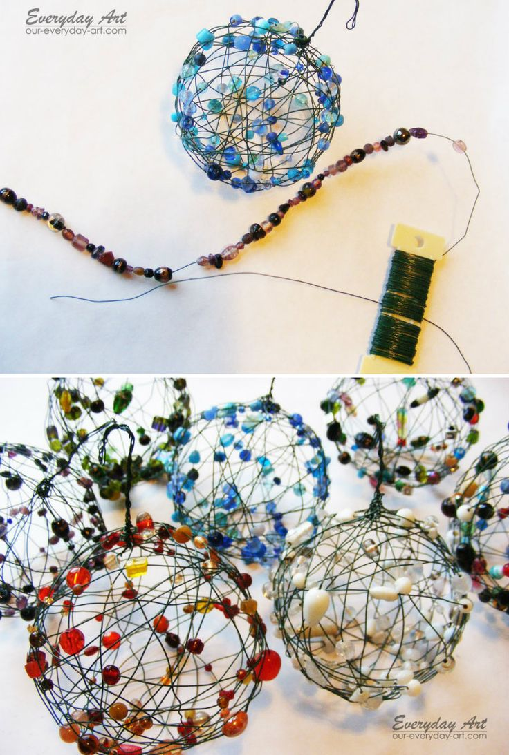Wire and Bead Balls