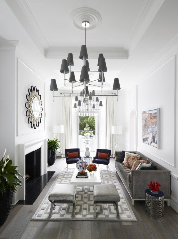 Greg Natale | Sydney based architects and interior designers l Love the sofa, ottomans and side table