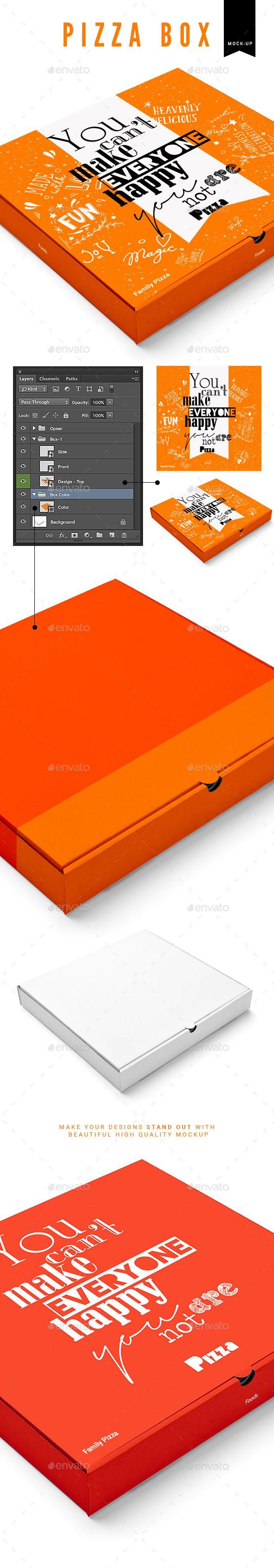 Pizza Box Mock-Up. Download here: http://graphicriver.net/item/pizza-box-mockup/16922202?ref=ksioks