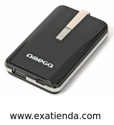Ya disponible Bateria omega externa 2200 mahsmartphone power bank   (por sólo 27.99 € IVA incluído):   - Power Bank Omega de 2200mAH de capacidad - Bateria portatil recargable para cargar dispositivos electronicos como iphone, ipad, ipod, psp, mp3 y otros telefonos moviles o dispositivos digitales de 5V.  - Entrada de carga AC 240V (adaptador 240V/5V no incluido) o por puerto PC USB.  - Parametros: - Tipo Bateria: Polymer Li-ion - Capacidad:2200mAh/3,7V - Entrada:5V, 600m