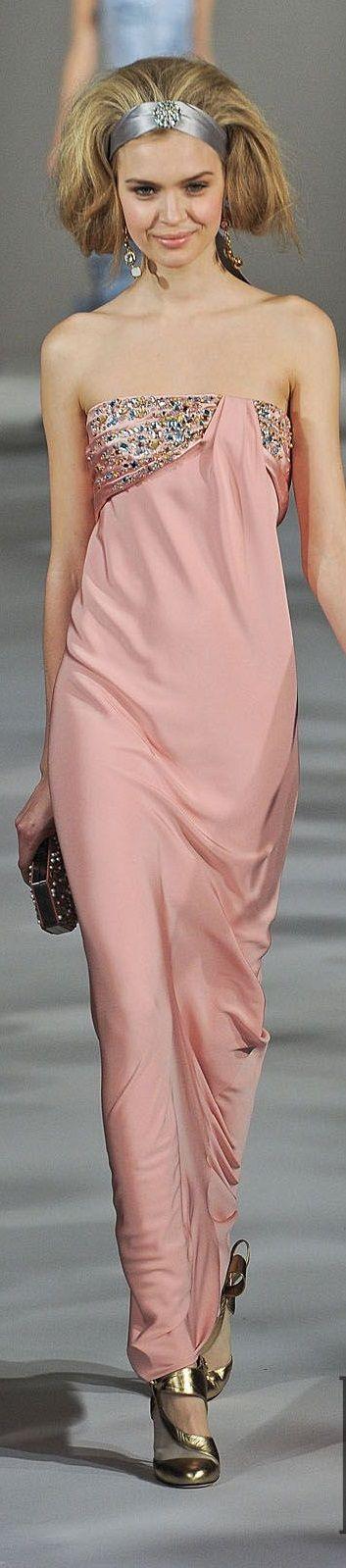 Oscar de la Renta women fashion outfit clothing style apparel @roressclothes closet ideas