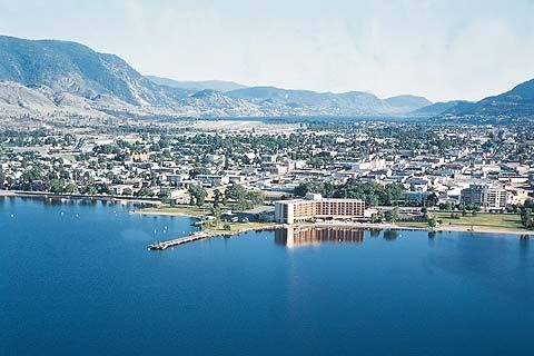 Penticton, Canada! So beautiful! Great wine too :)