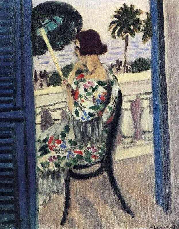 Henri Matisse ~ Woman Holding Umbrella