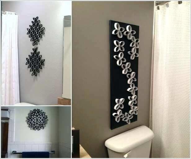 Diy Bathroom Art Ideas Diy Bathroom Decor Unique Wall Decor