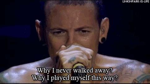 pushing me away lyrics - Linkin Park