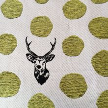 Echino Jacquard - Sambar Deer in Gold