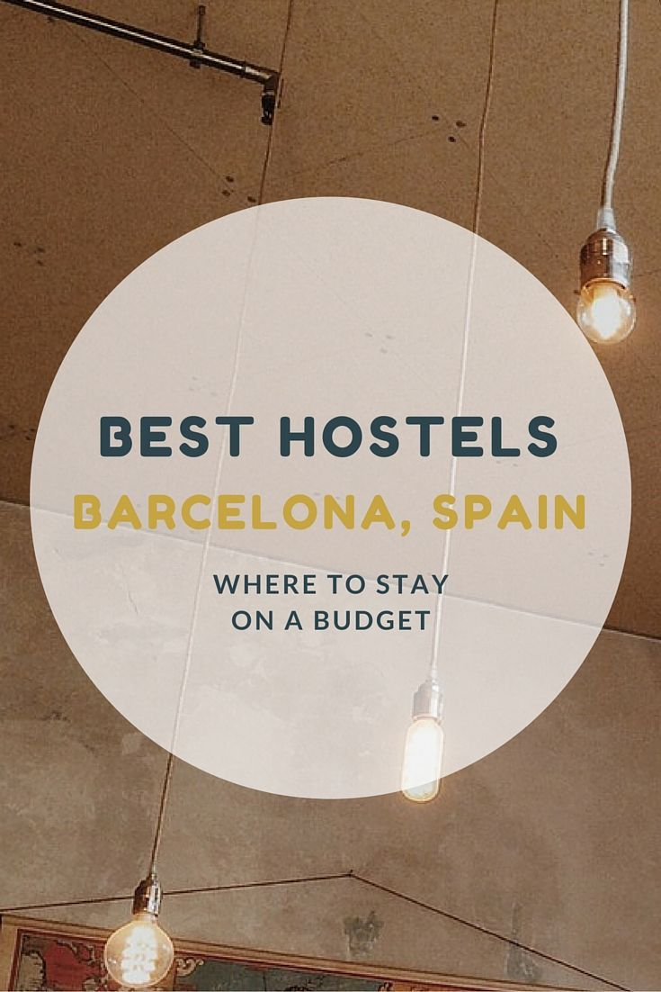 Barcelona, city of Gaudi, is visited by millions of backpackers and vacationers each year. In order to accommodate 8 million annual visitors there are hundreds of hotels, hostels, and short term apartment rentals in Barcelona.