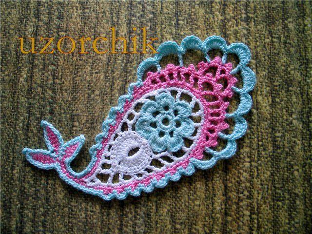 Crochet Paisley patterns ~ Craft , handmade blog
