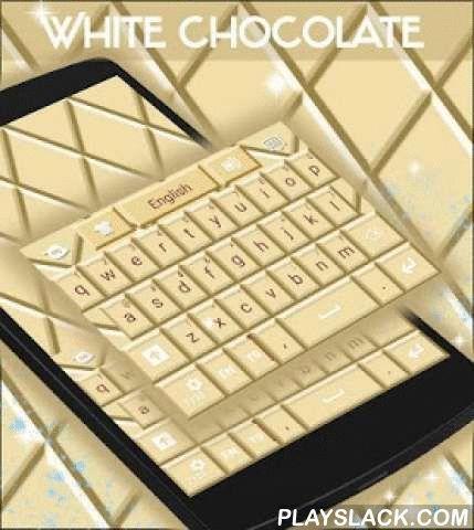 """White Chocolate Keyboard  Android App - playslack.com ,  Voor de liefhebbers van witte chocolade , we hebben net het thema voor u ! WITTE CHOCOLADE KEYBOARD DOWNLOAD Witte Chocolade Keyboard NU en pak een beet van deze heerlijke witte chocolade met name door onze ontwerpers !- Om te installeren , volg gewoon de 3 stappen : open na het downloaden , drukt u op """"Instellen als Active Theme"""" en selecteer het thema van de volgende pagina !- De verbazingwekkende HD screenshots voegden wij zullen u…"""