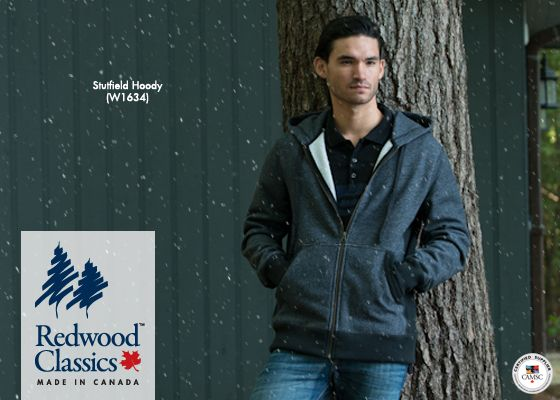 Our popular and cozy Stutfield Hoody has just received a new colour combo, keeping you warm all winter long in a classic #MadeInCanada style.