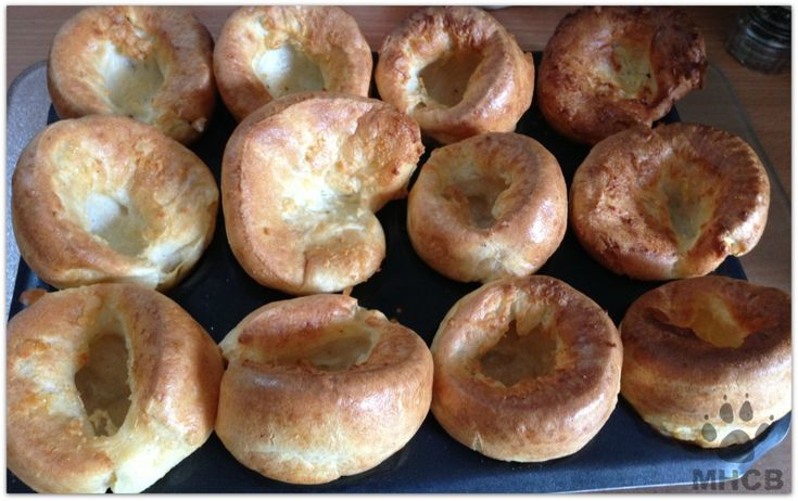 Gluten free and with some minor adjustments, vegan Yorkshire Pudding!