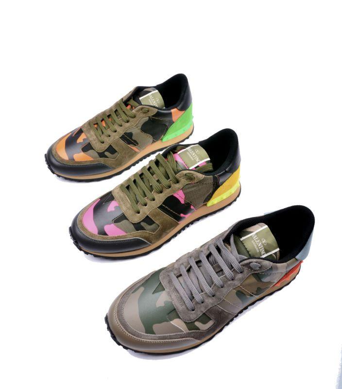 Chaussures de sport Valentino Garavani Rockrunner Camouflage sneaker