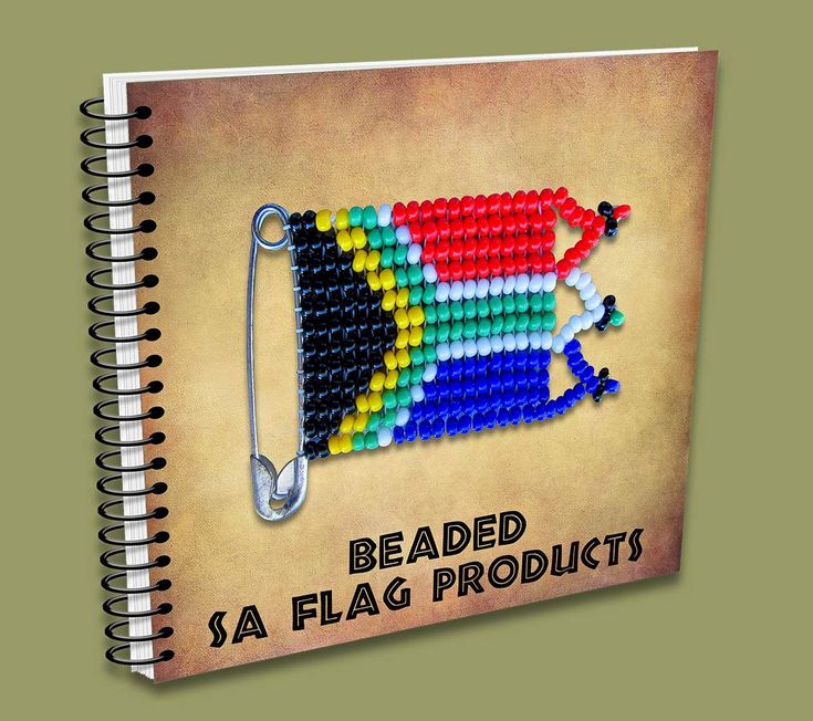 Beaded SA Flag Products Catalogue - handmade in South Africa.