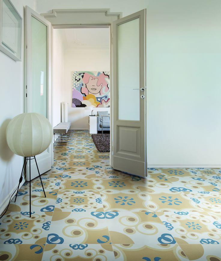 60x60 patchwork vloertegels in Italiaanse kleuren (37) Tegelhuys