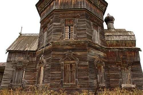 Siberia εγκαταλελειμμένα σπίτια