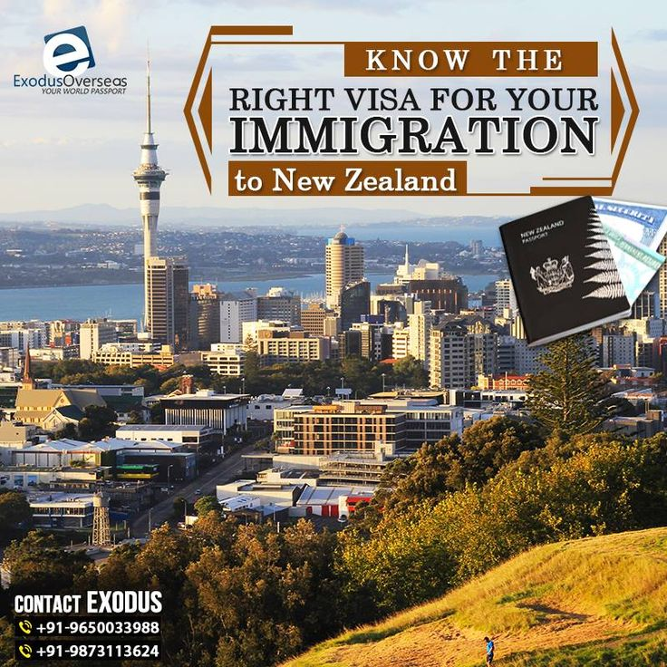 New Zealand offers varied types of visas. To know about the right kind of visa for you and your family, get in touch with us today! Contact Mr. Pankaj Malhotra (Ex-Visa Officer) Ph: +91-9650033988. For any visa other than Student contact Ms. Rajni Garg (Licensed immigration advisor) at +91 9873113624. #Exodus #FamilyVisa #SpouseVisa #LiveAbroad #PermanentResidency