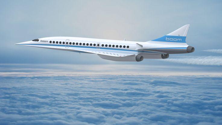 Le futur du voyage supersonique se dessine chez Boom et Virgin