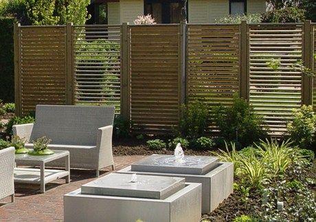 8 best windbreak fences images on pinterest backyard for Garden windbreak designs