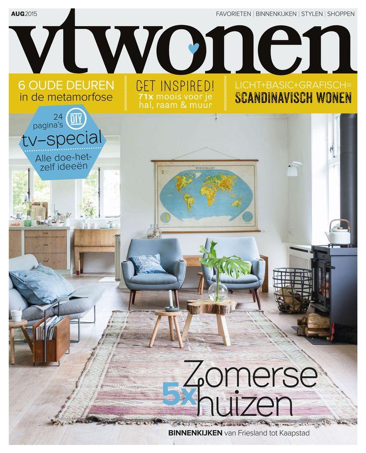 #vtwonen #cover August 2015 #magazine