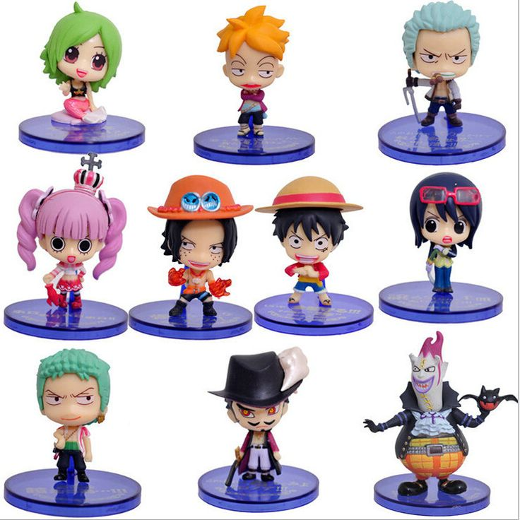 10pcs/set Anime One Piece Figures Cartoon Kids Toys PVC Toys Action Figures 5-7cm //Price: $US $15.74 & FREE Shipping //     #rchelicopters