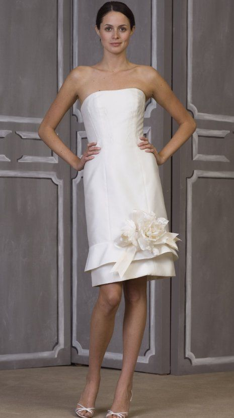 Informal Short Wedding Dress Nice And Unique Submitted By Anne J Dresses Under 100Short