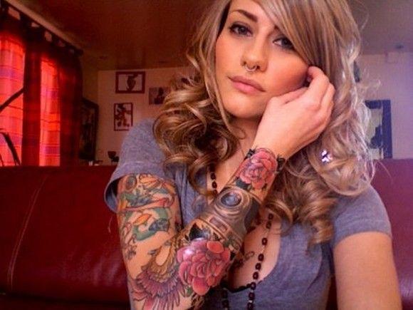sleeve designs tattoos flower sleeves cool sleeve tattoos