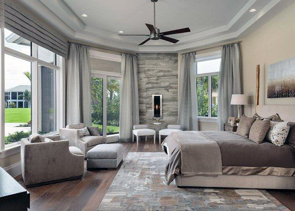 Top 60 Best Master Bedroom Ideas Luxury Home Interior Designs With Images Large Master Bedroom Ideas Luxurious Bedrooms Modern Master Bedroom
