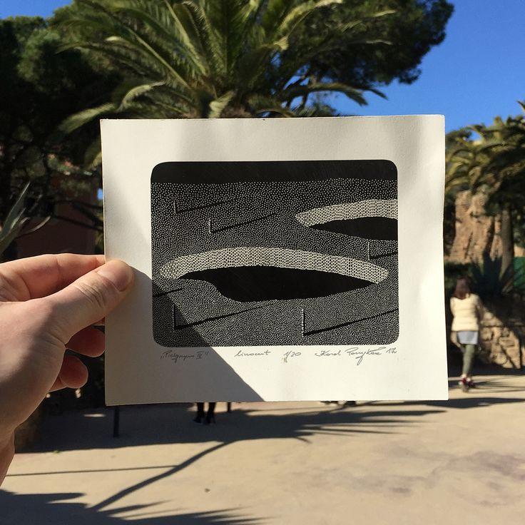 karol pomykala linocut printmaking