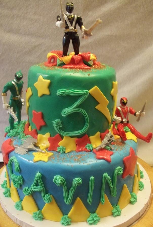 Cake Idea | Henry 6th Birthday Party - Power Rangering ...