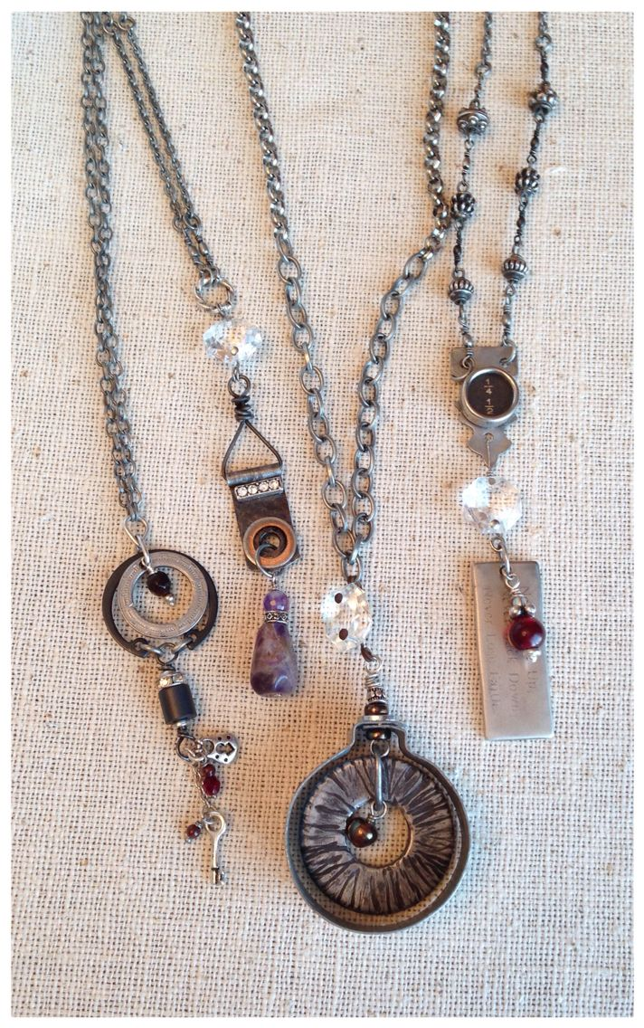 252 best ljblock designs jewelry images on pinterest for Repurposed vintage jewelry designers